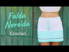 Tutorial Falda a Ganchillo o Crochet - Modelo Nereida - YouTube
