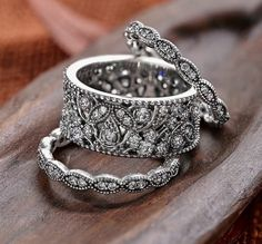 PANDORA Rings- want these so so badly!!! Obsessed PANDORA http://boutique31.ca