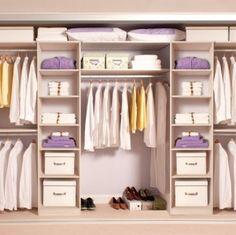 Tidy Bedrooms; Wardrobe Interior