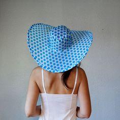 15% off CouponCode Fifteen vintage STATEMENT sun hat / vintage 1960s bright large brim head piece