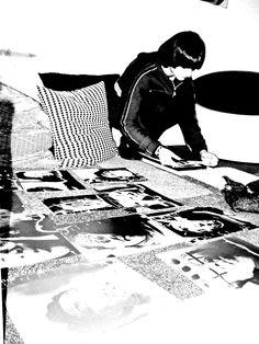 Preparazione Mostra Irene Guglielmi