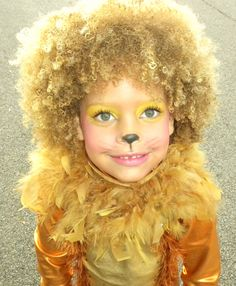 Lion make up for kids