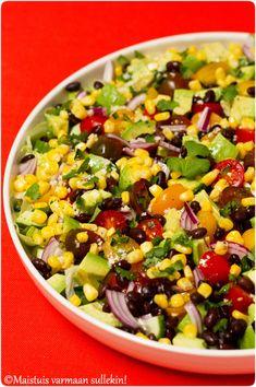 Salad Bar, Cobb Salad, Tex Mex, Salad Recipes, Food And Drink, Veggies, Fresh, Foods, Drinks