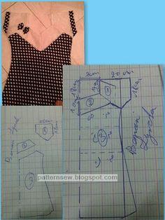 DIY pencil skirt: how to make a pencil skirt pattern Chudithar Neck Designs, Kurti Neck Designs, Blouse Designs, Dress Sewing Patterns, Sewing Patterns Free, Clothing Patterns, Abaya Fashion, Diy Fashion, Baby Dress Design