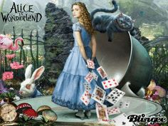 Alice in Wonderland - Tim Burton's Movie Picture #122168846 | Blingee.