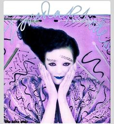 Legendary makeup by Richard Sharah transformed to Violet 80s Makeup, New Romantics, Annie, The Darkest, Waves, Artist, Photography, Color, Ideas