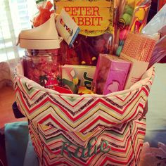 Thirty-One Easter basket out of a Mini Utility Bin  www.mythirtyone.com/melissalang