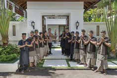 Have we mentioned we think our staff are our most prized assets?! #betterthanahotel #WinduVillas #bali #balivilla #luxury