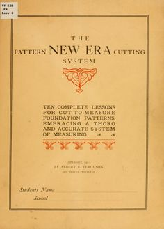 The pattern New era cutting system;