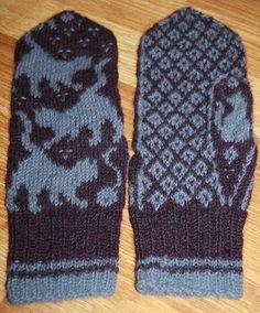 Knitting Stitches, Knitting Patterns, Crochet Patterns, Knitting Ideas, Mittens Pattern, Knit Mittens, Yarn Projects, Knitting Projects, Knit Crochet