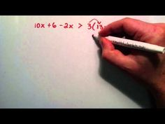 How to Solve a Single Variable Inequality , Example 2 , Intermediate Algebra , Lesson 47