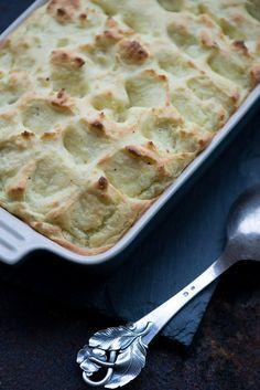 Opskrift på ovnbagt kartoffelmos