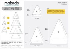 Create your own Makedo Cardboard Christmas tree these holidays. All you have to do is download the template file available here on instructables and go to www.make.do for some Makedo cardboard construction tools.