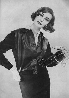 March Vogue 1957   by William Klein