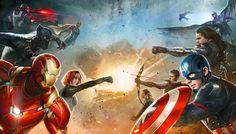 CIA☆こちら映画中央情報局です: Captain America : シリーズ最新作「キャプテン・アメリカ : シビル・ウォー」で対立するヒーローたちは、どのように分裂するのか?!、キャップ VS.アイアンマンの両軍団のメンバーが明らかになったネタバレ気味のプロモ・アート!! - 映画諜報部員のレアな映画情報・映画批評のブログです
