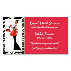 Cleaning service business cards house cleaning business cards housekeeping diva business cards colourmoves