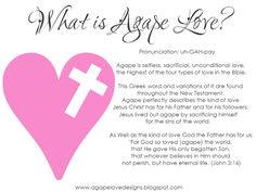 Agape Love Designs: History