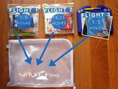 Toddler plane travel ideas-flight packs Plus Toddler Plane Travel, Airplane Travel, Travel With Kids, Family Travel, Travel Plane, Baby Travel, Airplane Toys, Toddler Fun, Toddler Activities
