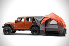 Rightline Gear SUV Tent For Jeep Wrangler 01