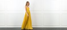 Kim Pleated Maxi Dress | Rachel Zoe