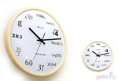 Time is Math! Great gift for geek youngsters!