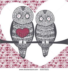 two owls by stopitnow