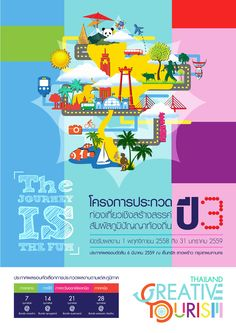 Graphic design By art chakarin Project : Creative tourism 2558