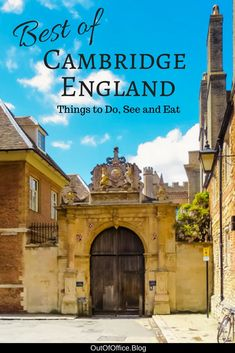 Punting, colleges, chelsea buns, a gorgeous bridge, world famous choir, and a whole lot of history... here are 25 things to do in Cambridge England for an unforgettable day trip