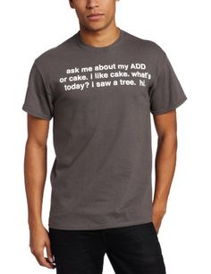 T-Line Men's Humor Ask Me About Add Tee, Charcoal, Large - http://www.scribd.com/doc/268779029/