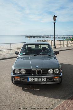BMW E30 sedan w Gdyni Orłowo
