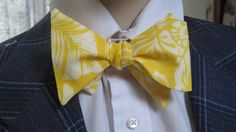 Yellow Bow Tie by Cloutseu on Etsy, $20.00