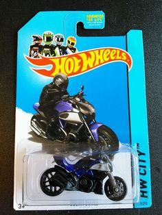 2013 Hot Wheels #9 Ducati Diavel Motorcycle - New On Card - HW CITY Street Power in Toys & Hobbies | eBay