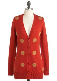 Fireside Finery Cardigan | Mod Retro Vintage Sweaters | ModCloth.com
