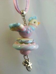 Lampwork beads made by Johan de Lange