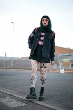 Punk Outfits, Grunge Outfits, Fashion Outfits, Dark Fashion, Grunge Fashion, Alternative Outfits, Alternative Fashion, Festival Outfits, Festival Fashion