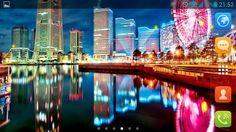 City Lights by Magic Wallpaper
