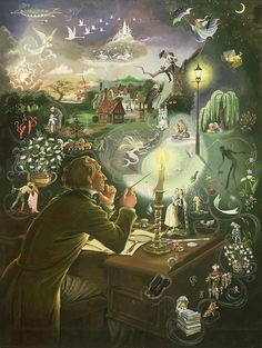 hans christian andersen art - Google Search