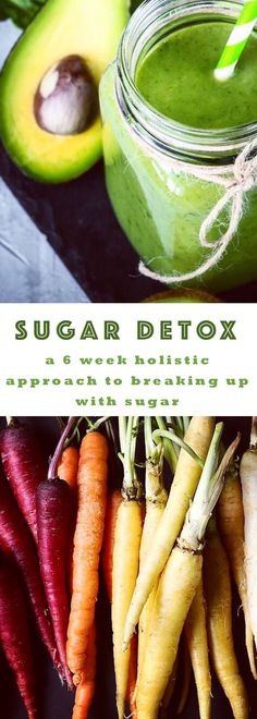 SUGAR DETOX: a 6 week holistic approach to breaking up with sugar. Created by Tina Milnes, Integrative Health Coach at BlondeBeetNirvana.com