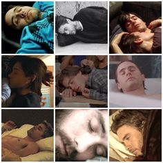 "Jared Leto, ""the sleepy beauty""..."