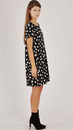 Dusen Dusen Black Rocks Mini Kate Dress