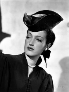 Masquerade in Mexico, Dorothy Lamour, in a Hat by Edith Head, 1945 Premium Poster