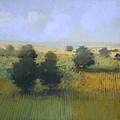 Summer Landscape 40x40, uncredited, Paul Balmer, Tumblr