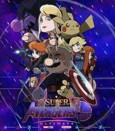 Super Smash Bros Ultimate in Avengers Endgame Super Smash Bros Memes, Nintendo Super Smash Bros, Game Character, Character Design, Super Smash Ultimate, Otaku, Best Crossover, Super Mario Art, Pokemon