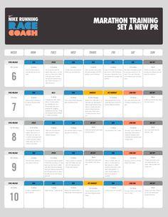 NYC Marathon training Plan from Nike
