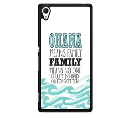 Ohana Means Family Lilo And Stitch Quotes TATUM-8135 Sony Phonecase Cover For Xperia Z1, Xperia Z2, Xperia Z3, Xperia Z4, Xperia Z5 This case mate is not only phone accessories which cover your device