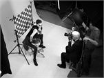 Linda Evangelista for Chanel Eyewear ad campaign