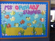 Summer Bulletin Board!! LOVE IT!!