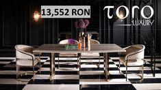 Diningul Flora, cu un design modern si elegant,  poate fi comandat din  Showroom-ul #TORO Luxury, Bd. Pipera 200A.  Rezervari si comenzi: 0746 661 384  Pret Flora dining: 1 masa + 6 scune la pretul de 13.552 RON (tva inclus) Showroom, Flora, Conference Room, Dining, Luxury, Modern, Table, Furniture, Home Decor
