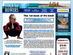 Yoga for Rowers: Building Physical and Mental Strength Yoga Flow, Yoga Meditation, Indoor Rowing, Stretch Routine, Mental Strength, Yoga Poses, Read More, Good Books, Flexibility