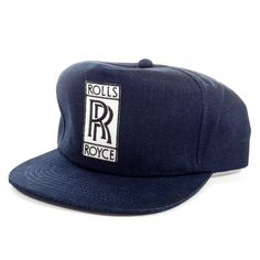 Rolls Royce Raw Denim Snapback Hat 50a3865f4eca